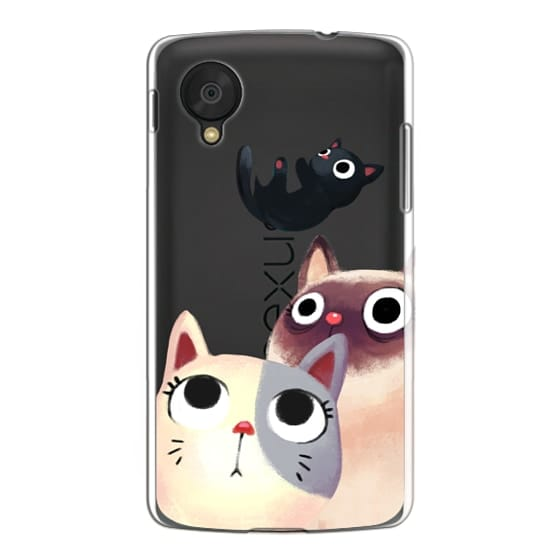 Nexus 5 Cases - the flying kitten