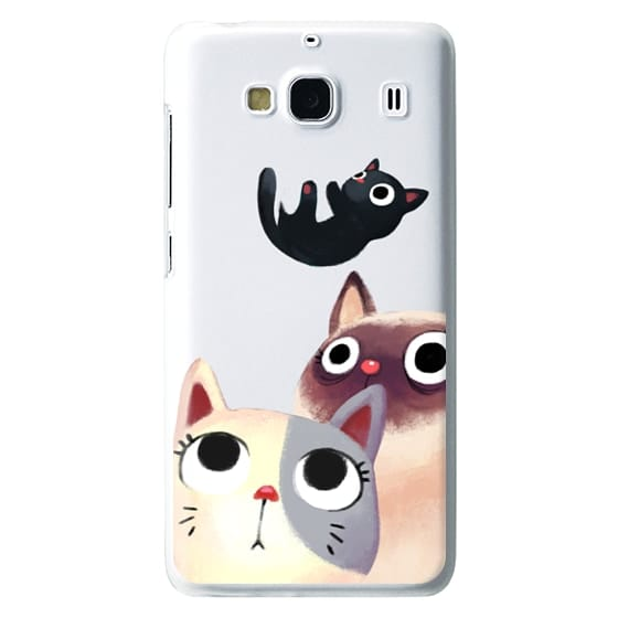 Redmi 2 Cases - the flying kitten