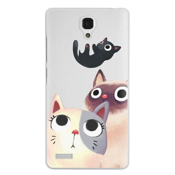 Redmi Note Cases - the flying kitten