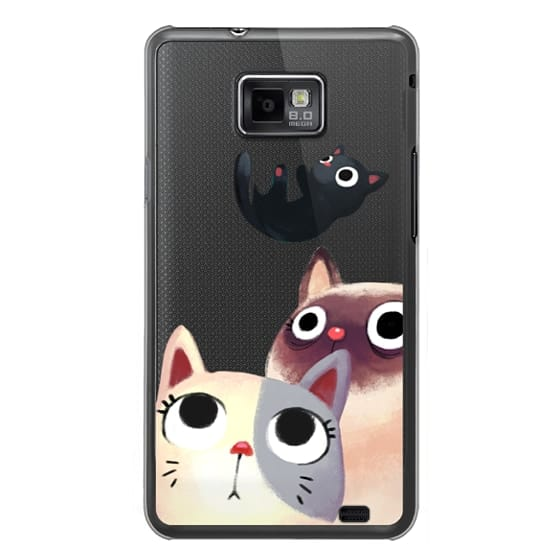 Samsung Galaxy S2 Cases - the flying kitten