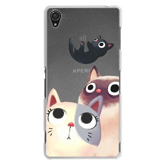 Sony Z3 Cases - the flying kitten