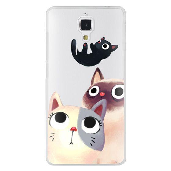 Xiaomi 4 Cases - the flying kitten