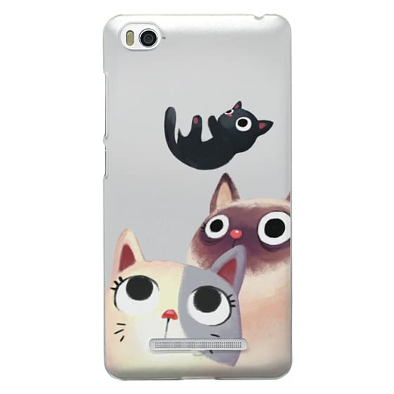 Xiaomi 4i Cases - the flying kitten