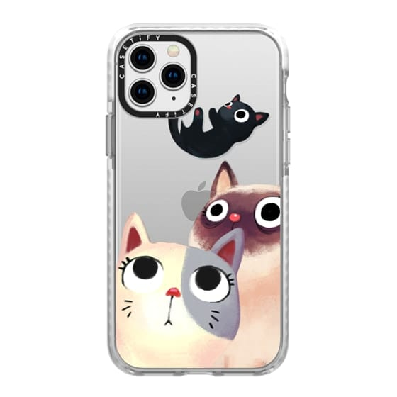 iPhone 11 Pro Cases - the flying kitten