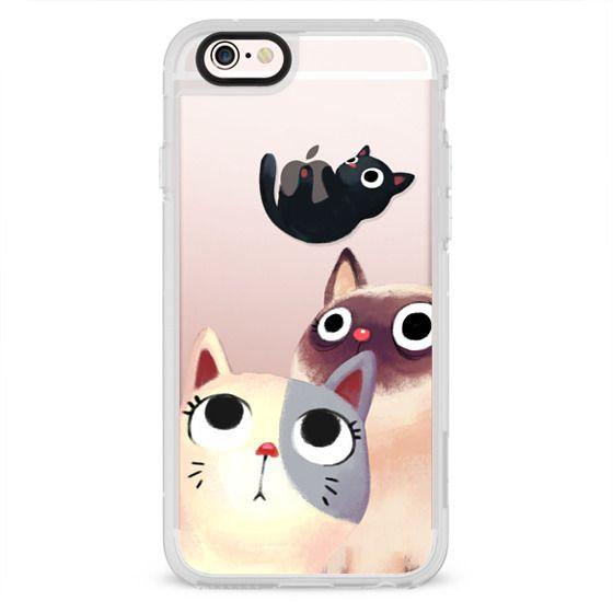 iPhone 6s Cases - the flying kitten