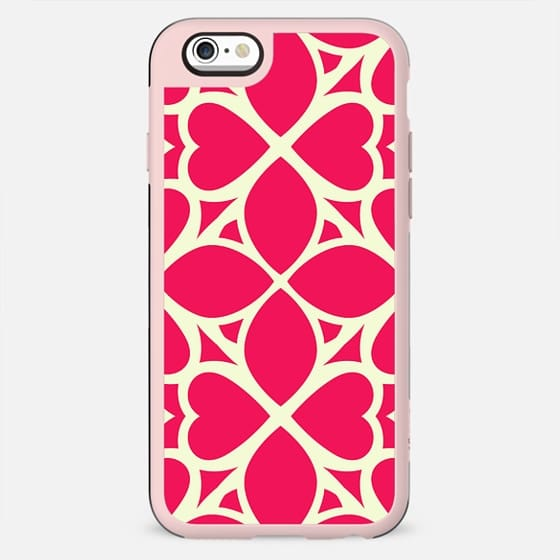 Vivid Magenta Pattern Girlie Design