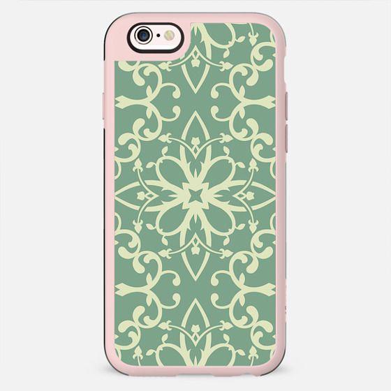 Lovely Lime Green Vintage Pattern - New Standard Case