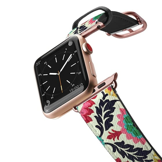 Apple Watch 38mm Bands - Lovely Floral Decoration Colorful Flowers Stylish Design