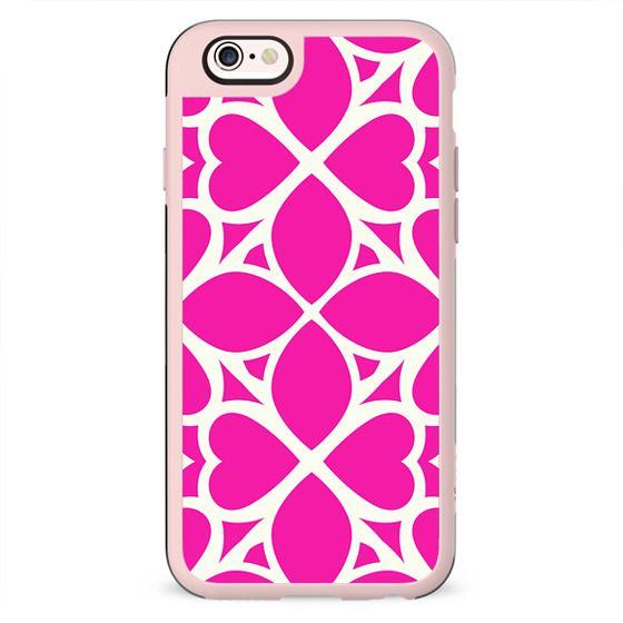 Vivid Magenta Pattern Girlie Design