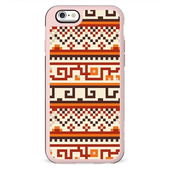 Tribal Pattern Abstract Geometric Vintage