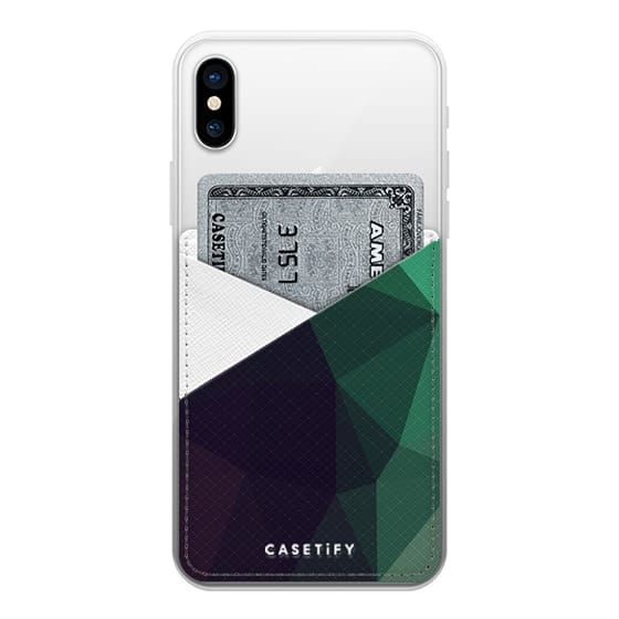 iPhone X Cases - Geometric Polygonal Abstract Geometry 085