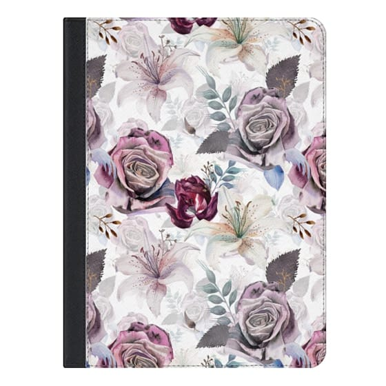 9.7-inch iPad Covers - The morning garden