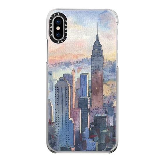 iPhone X Cases - New York