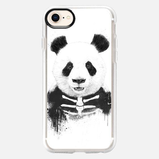 Zombie panda - Snap Case
