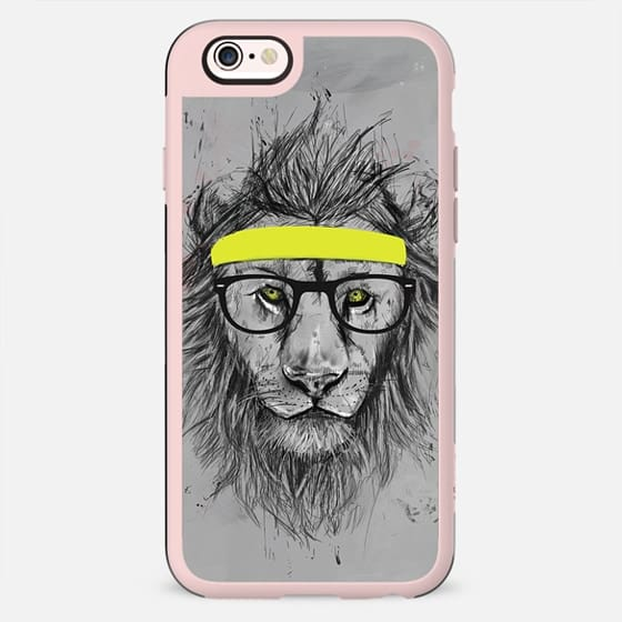 Hipster lion - New Standard Case