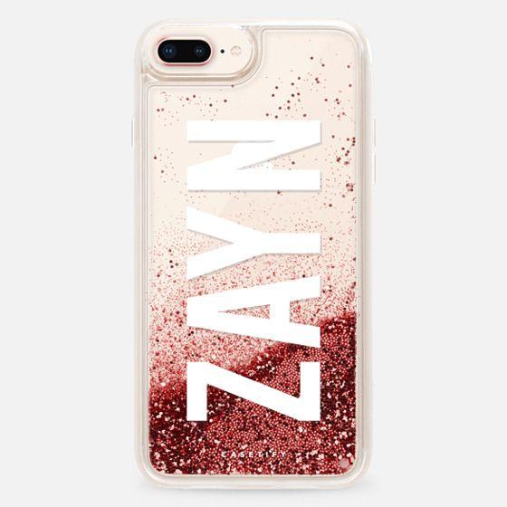 Custom Initial (ZAYN) - Glitter Case