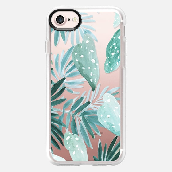 Begonia Maculata Palms - Wallet Case