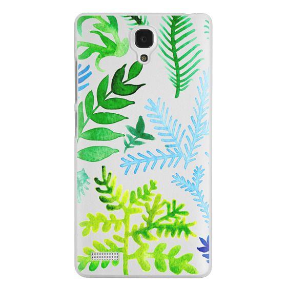 Redmi Note Cases - Blue Corals & Laurels