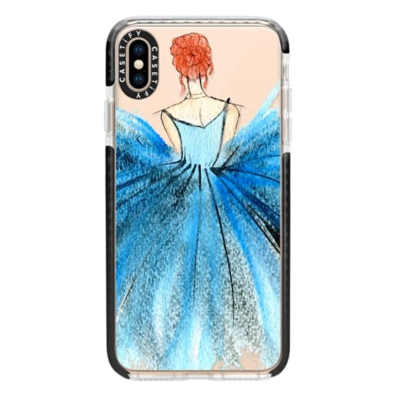 iPhone XS Max Cases - Blue Tutu Dancer