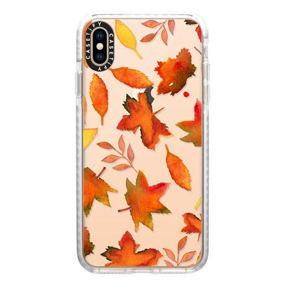 Fall Leaves Watercolor