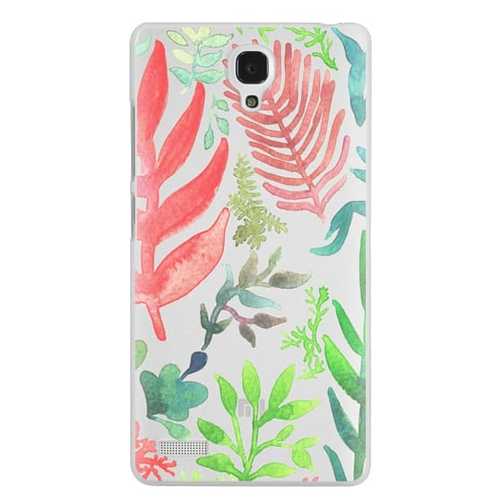 Redmi Note Cases - Red Corals & Laurels