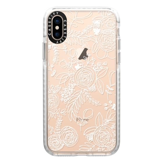 iPhone XS Cases - Floral Lace I