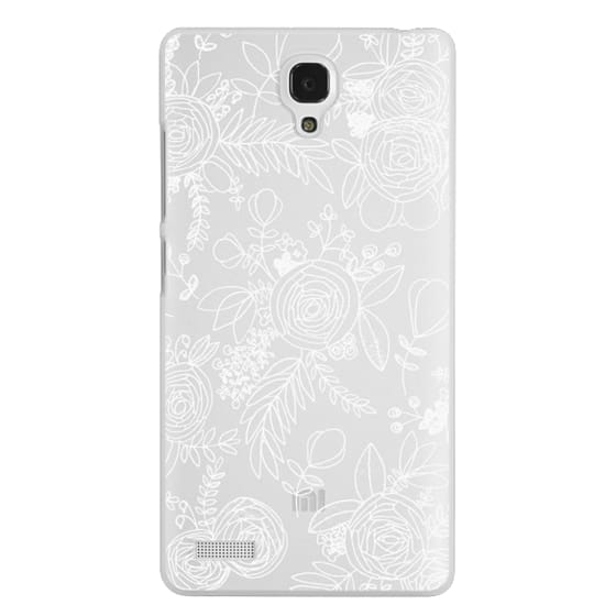 Redmi Note Cases - Floral Lace I