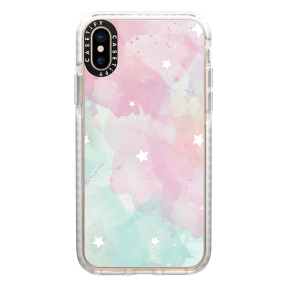iPhone XS Cases - Magical Pastel Sky