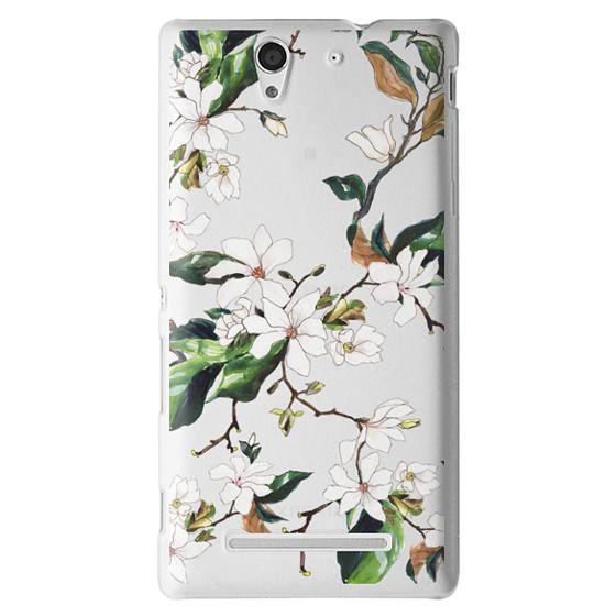 Sony C3 Cases - Magnolia Branch