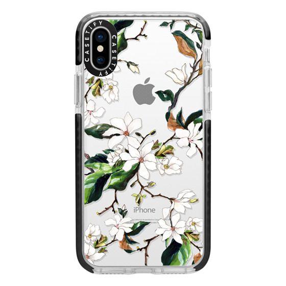 iPhone X Cases - Magnolia Branch