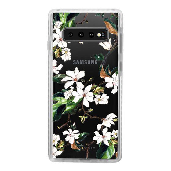 Samsung Galaxy S10 Cases - Magnolia Branch