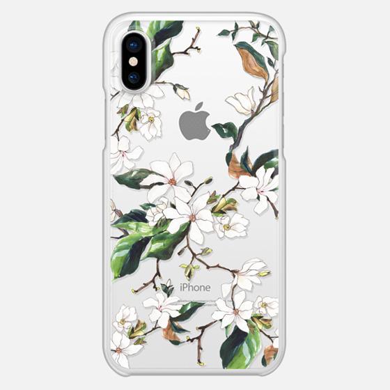 iPhone X Case - Magnolia Branch