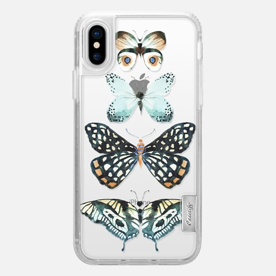 iPhone X Case - Flutterby