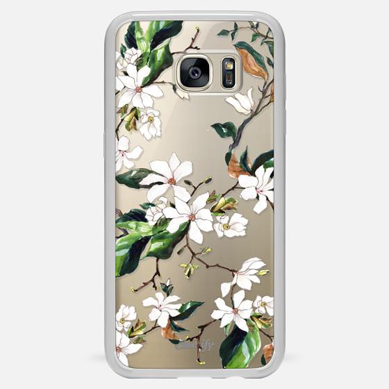 Galaxy S7 Edge Hülle - Magnolia Branch