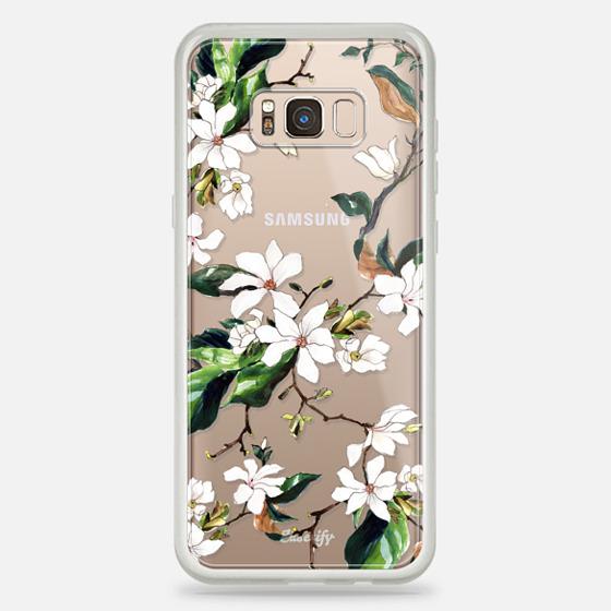 Galaxy S8+ Hülle - Magnolia Branch