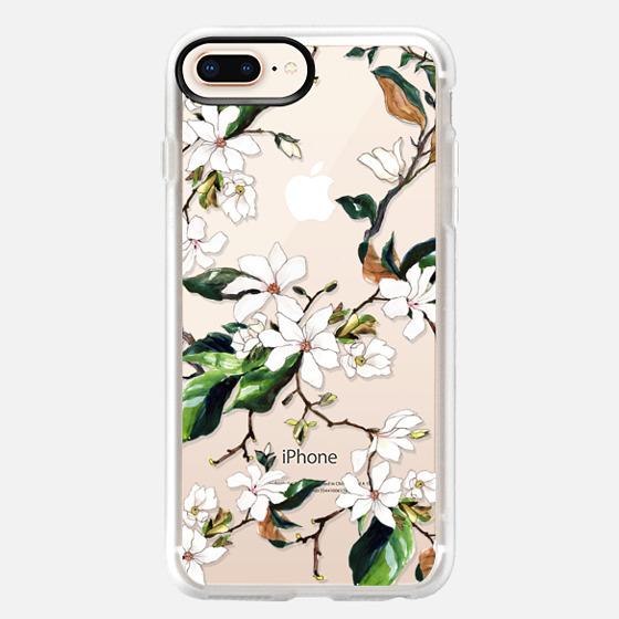 iPhone 8 Plus 保護殼 - Magnolia Branch