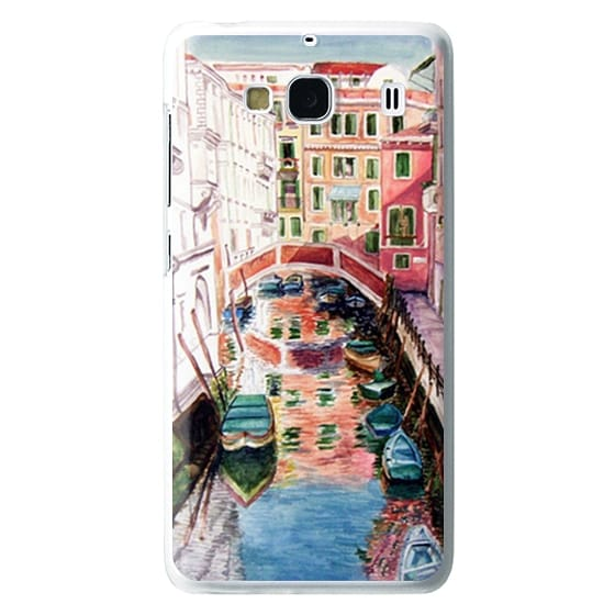 Redmi 2 Cases - Watercolor Painting Venice Italy Canal Canoe Landscape Venetian
