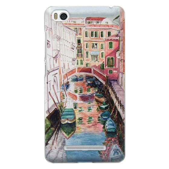 Xiaomi 4i Cases - Watercolor Painting Venice Italy Canal Canoe Landscape Venetian