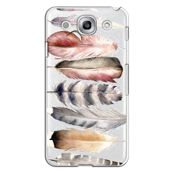 Optimus G Pro Cases - Watercolor feathers