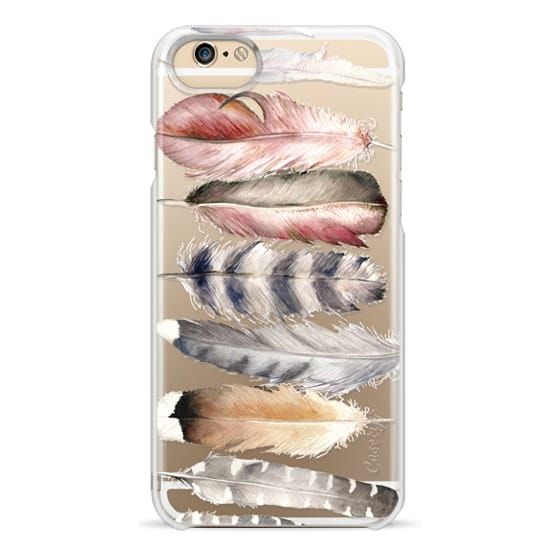 iPhone 6 Cases - Watercolor feathers