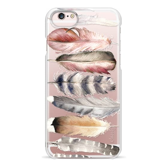 iPhone 6s Cases - Watercolor feathers