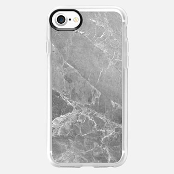 iPhone 7 Case GREY MARBLE