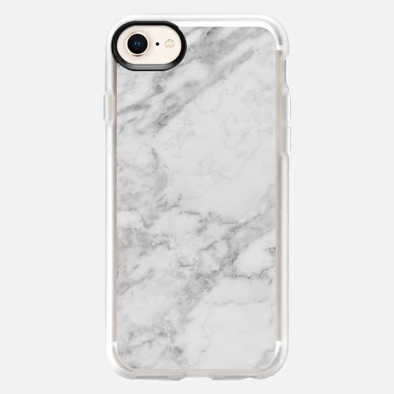 WHITE MARBLE III - Snap Case