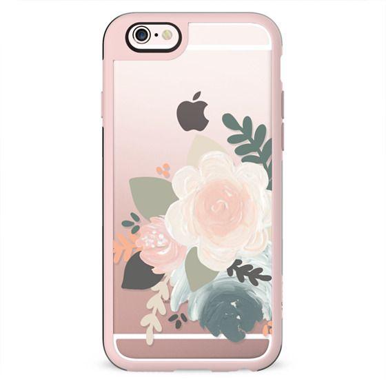 Peach Florals