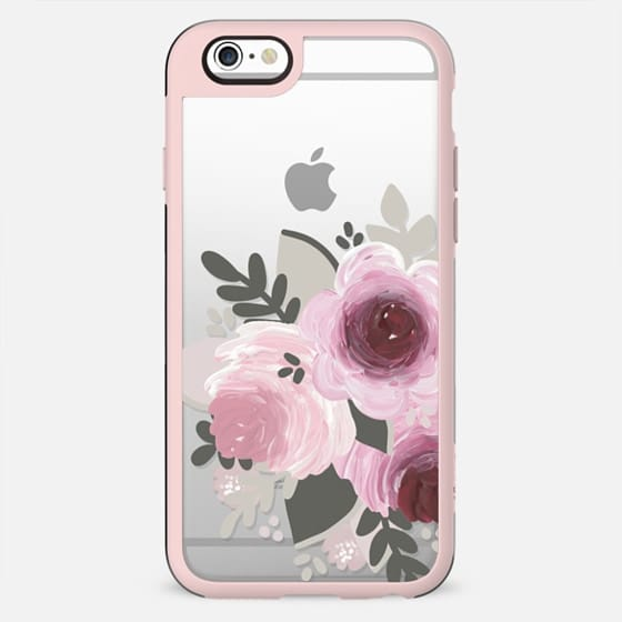 Purple Florals - New Standard Case