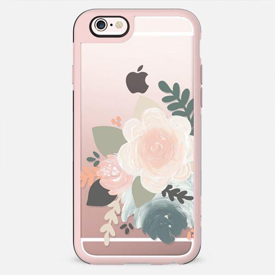 Peach Florals - New Standard Case