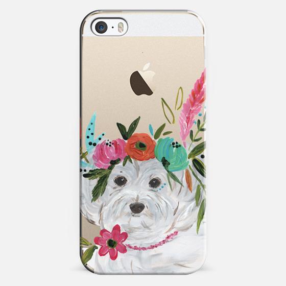 iPhone 5s Case - Boho Maltipoo by Bari J. Designs