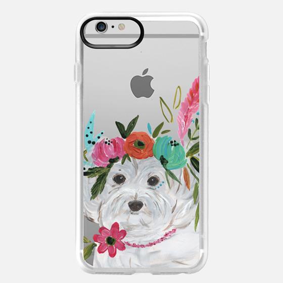 iPhone 6 Plus Case - Boho Maltipoo by Bari J. Designs
