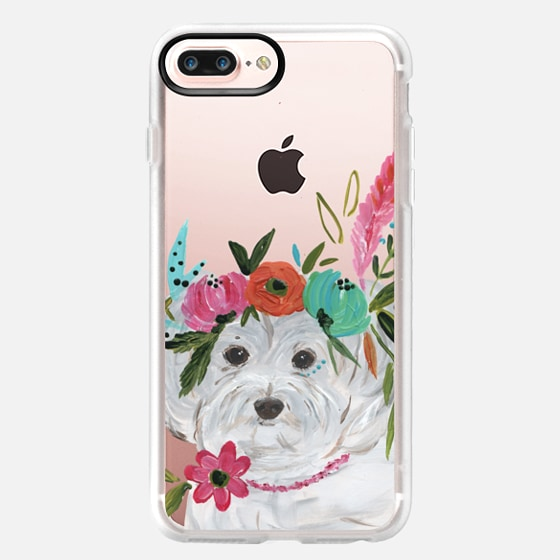 iPhone 7 Plus Capa - Boho Maltipoo by Bari J. Designs
