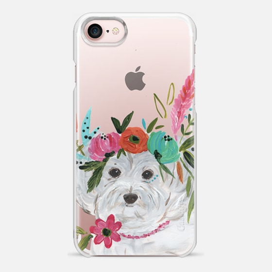 iPhone 7 Hülle - Boho Maltipoo by Bari J. Designs